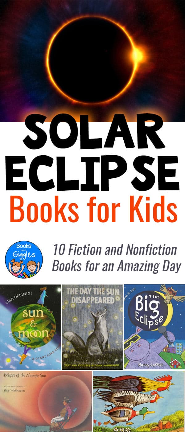 Solar eclipse books for kids
