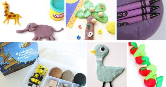 Play Dough Activities Based On Children's Books - 20+ Activities to extend a story and develop a child's creativity