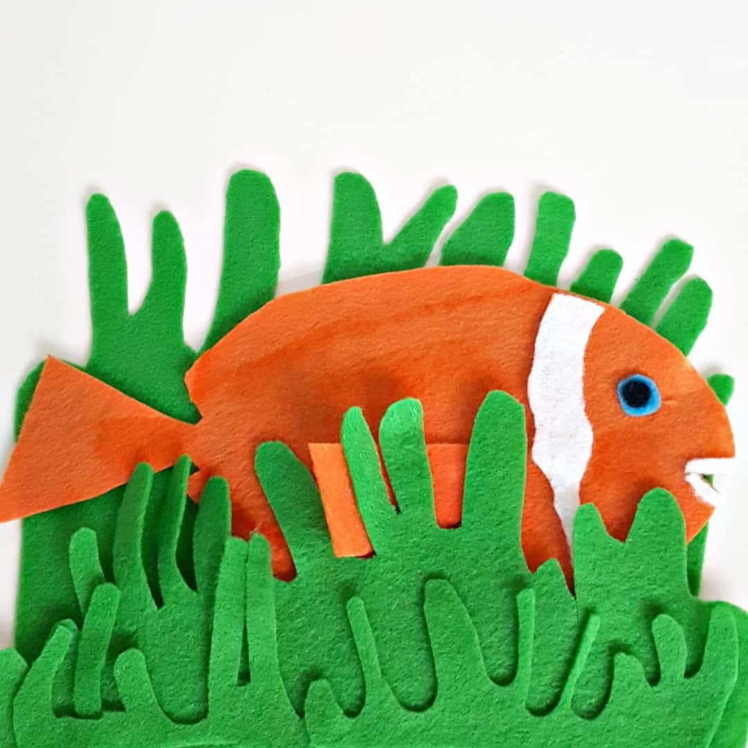 fish wish felt board activity