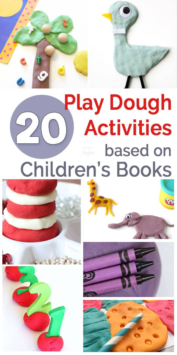 Preschoolers will love these play dough book extension activities!