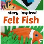 felt board activity for Fish Wish book