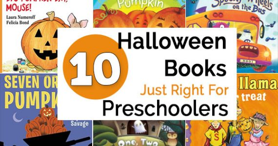 These Halloween books are just right for preschoolers
