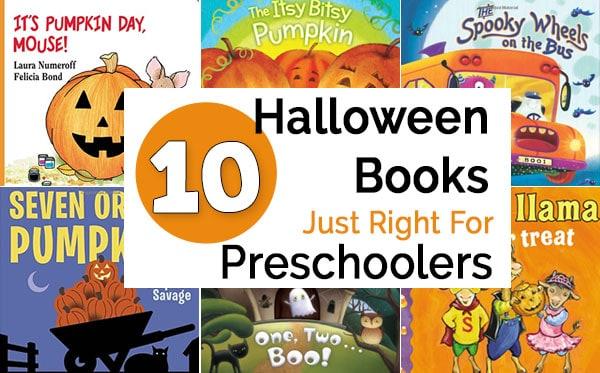 10 Halloween books for preschoolers