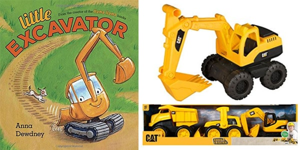 construction book toy gift combo