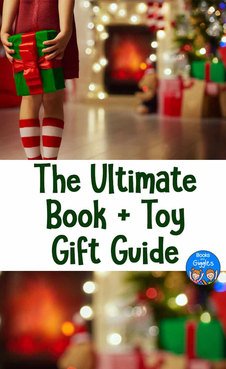Gift ideas, Christmas, Kids | A list of the best new children's books, each matched up with the perfect toy #giftguide #christmasgiftsforkids