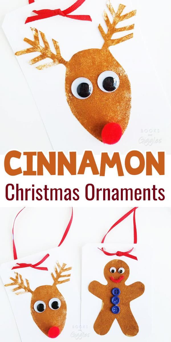 cinnamon christmas ornament