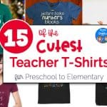 15+ of the Cutest Teacher Shirts for Preschool to Elementary Teachers
