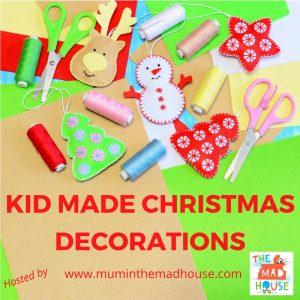 kid made christmas decorations