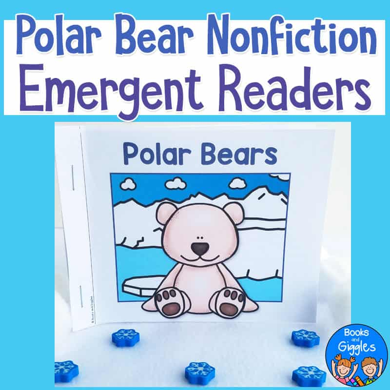 Polar Bear Nonfiction Emergent Readers cover