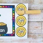 St Patrick's Day Sight Word Activity for Preschool