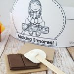 DIY Pretend Play S'mores Sequencing Activity
