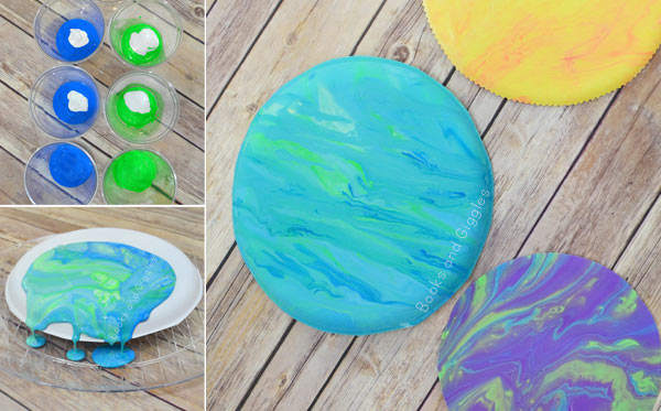 Earth craft for kids (or make it into a solar system craft!)