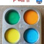 6 colors of sidewalk chalk paint