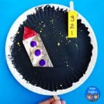 Interactive Paper Plate Rocket Craft – Blastoff to Space!