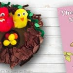 Birds Nest Craft Preschool Book Activity