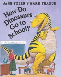 how do dinosaurs go to school book cover