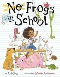 No Frogs in School book cover