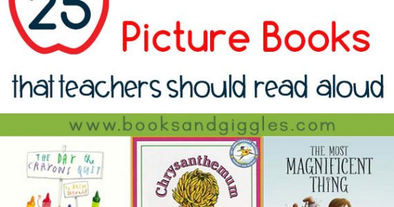 Back to school books for teacher to read aloud at the beginning of the school year