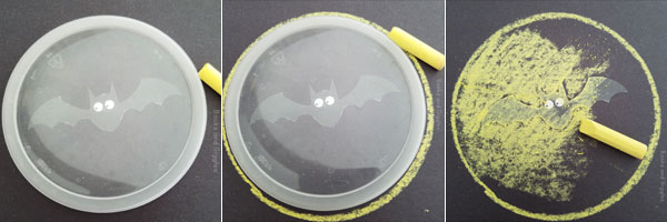 bat craft preschool fine motor activity steps