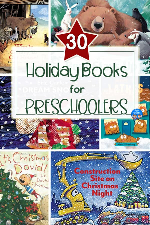These preschool holiday books include brand new titles as well as favorite classics