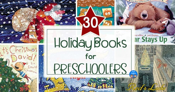 30 holiday books for preschoolers