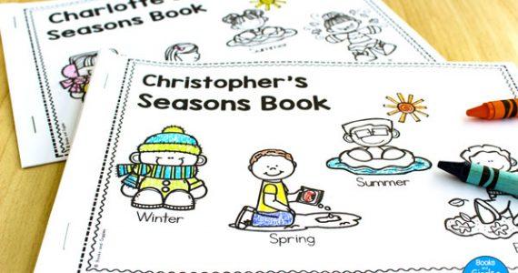 4 seasons emergent readers