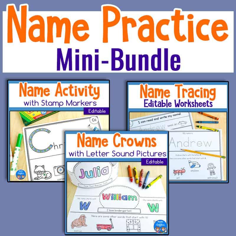 Name Practice bundle