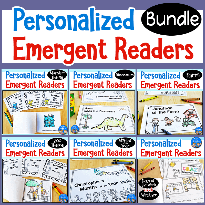 Personalized emergent readers