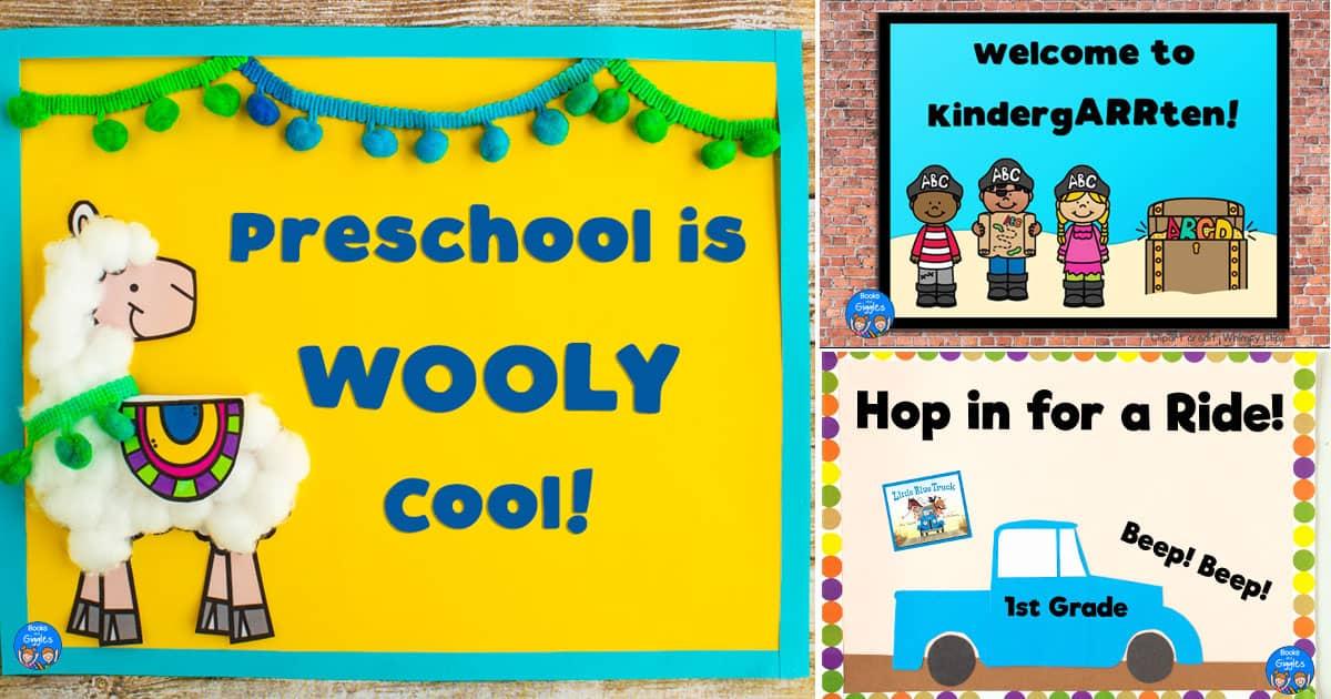 Back to School Bulletin Boards: 10 New Ideas for Preschool ...