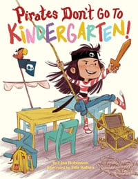 Pirates Don't Go to Kindergarten book cover