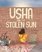 usha and the stolen sun book cover