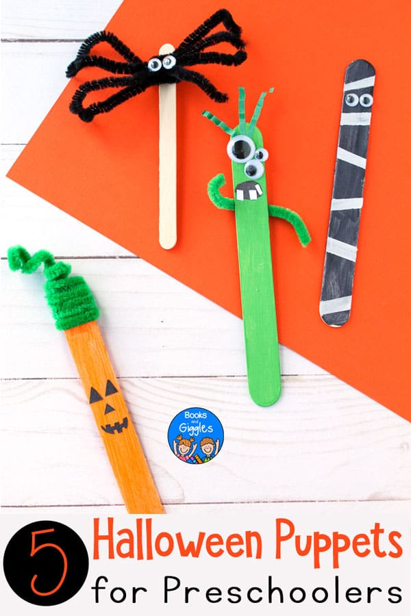5 Halloween Puppets For Dramatic Play