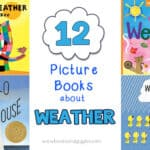12 Weather Books for Preschool and Kindergarten