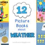 12 Weather Books for Preschool and Kindergarten