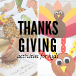 Thanksgiving Activities For Preschoolers and Kindergartners