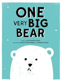 one very big bear cover