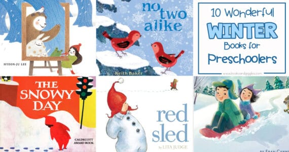winter books for preschoolers