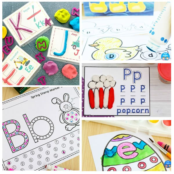 alphabet worksheets and printables