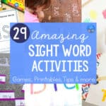 Sight Word Activities for Home