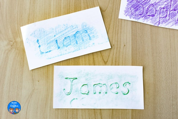 name sheets