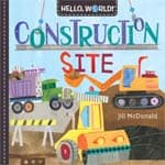 construction books for preschoolers: Construction Site cover