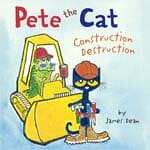 construction books for preschoolers Pete the Cat cover