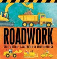 construction books for preschoolers: Roadwork cover