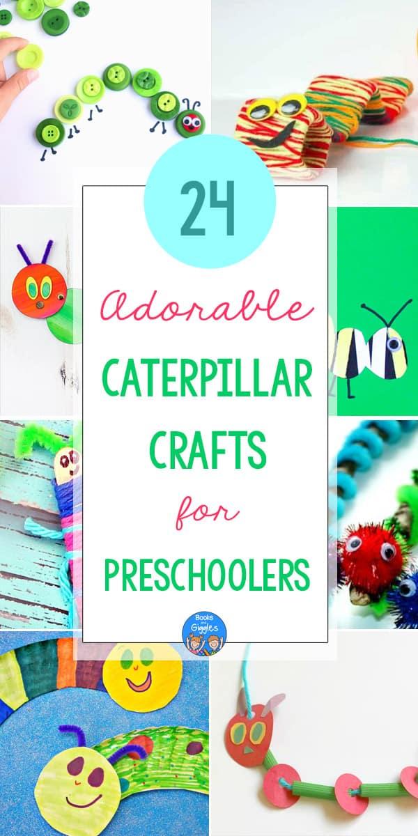 Preschool caterpillar crafts pin2