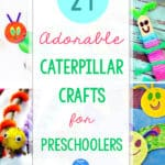 24 Preschool Caterpillar Crafts