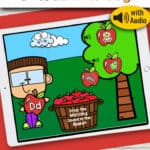 Apple Beginning Sounds Distance Learning Activity