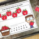 Fall Name Activities for Preschool {Free Printables!}