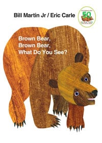 brown bear, brown bear cover