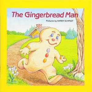 book cover for The Gingerbread Man by Karen Schmidt