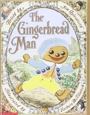 Aylesworth gingerbread man book cover